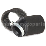 Inclined Mouth Foam Air Filter for 50cc-250cc Dirt Bike & Motorcycle