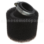 38mm Bent Air Filter for ATV, Dirt Bike & Go Kart