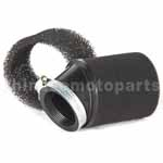 Inclined Mouth Foam Air Filter for 50cc-250cc Dirt Bike & Motorc