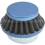 35mm Blue Air Filter for 50cc-125cc ATV, Dirt Bike & Go Kart