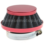 35mm Red Air Filter for ATV Dirt Bike Go Kart Pit Bike 4 Wheeler Quad Dune Buggy