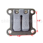 Reed Valve Plate Block 47cc 49cc 2-stroke Pocket Dirt Bike ATV