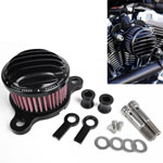 Rough Crafts Air Cleaner Intake Filter System for Harley Sportster XL883/1200