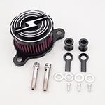 Hot Motorcycle Air Cleaner Intake Filter Kit For Harley sportster XL883 XL1200