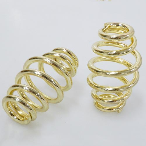 "3"" Inch Gold Motorcycle Solo Seat Springs Set For Harley Chopper Bobber"