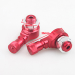 90 Degree Motorcycle CNC Aluminum Wheels Valve Stems for YAMAHA FORCE FRC RSZ JOG Z125 RED