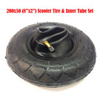 "200x50 (8""x2"") Scooter Tire & Inner Tube Set for Bladez Mongoose electric gas"