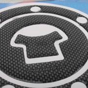 Fuel Gas Cap Cover Pad Sticker For Honda Cbr600 Cb400 Vfr