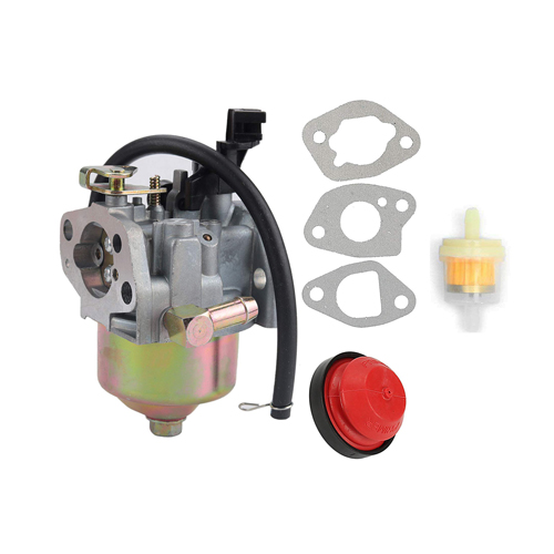Snowblower Carburetor W/ Gasket & Primer Bulb for HUAYI 170S 170SA 165S 165SA